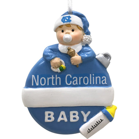 University of North Carolina Baby's First Christmas Ornament
