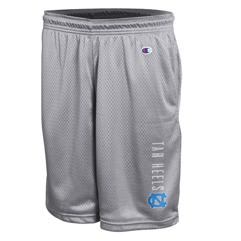 Men's Classic Mesh Shorts by Champion in Active Grey