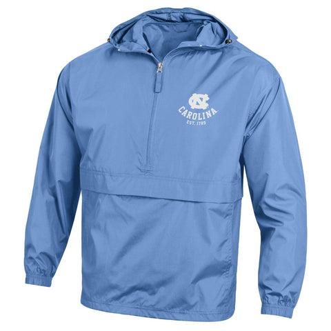 Carolina Blue Packable Champion UNC  Jacket