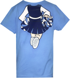 North Carolina Tar Heels Cheerleader Body Baby Tee