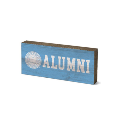 UNC Alumni Desk Top Block