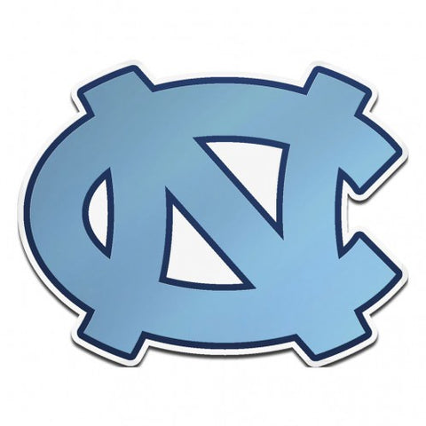 North Carolina Tar Heels Wincraft NC Interlock Carolina Blue UNC Auto Emblem
