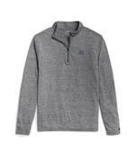 UNC Men's 1/4 Zip in Grey Reclaim Fabric
