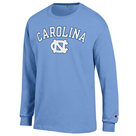 UNC Long Sleeve T-Shirt by Champion