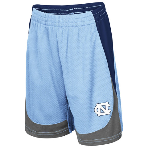 North Carolina Tar Heels Colosseum Hall of Fame Toddler Shorts - Carolina Blue