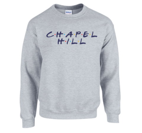 Chapel Hill Crewneck Sweatshirt Friends Dot Style