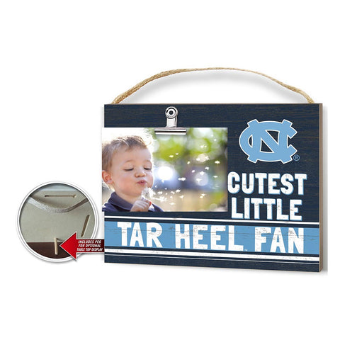 Cutest Little Tar Heel Fan Picture Frame
