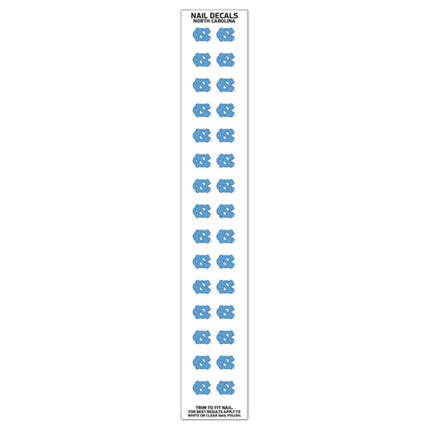 UNC Nail Decal Stickers 30pc Set