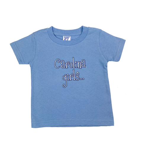 North Carolina Tar Heels Baby Carolina Girls T-Shirt