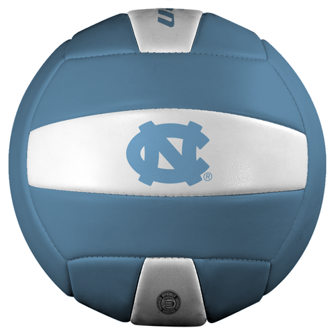 North Carolina Tar Heels Official Size UNC Volleyball