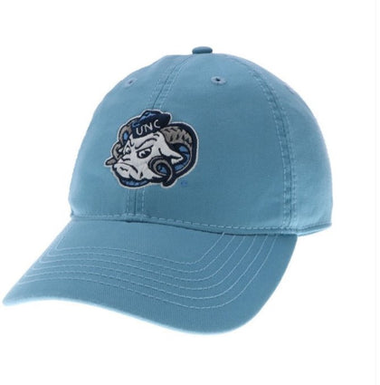 UNC Carolina Blue Rameses Mascot Hat by Legacy