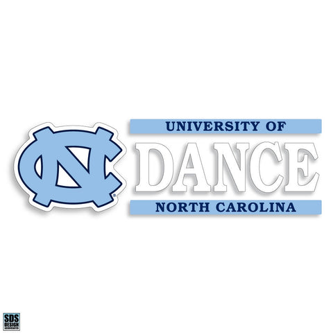 University of North Carolina Dance Decal