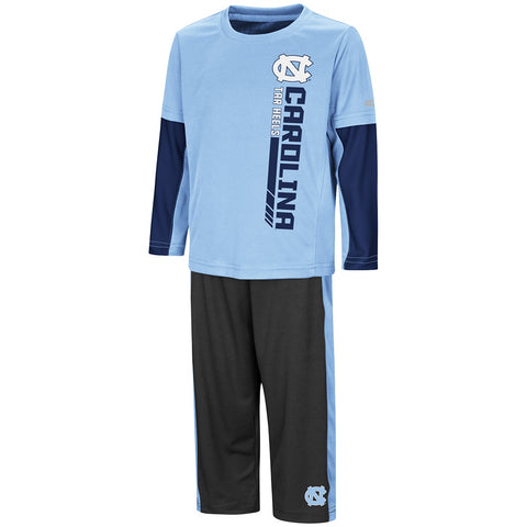 North Carolina Tar Heels Colosseum Toddler Boy's We Got Us Set - Front