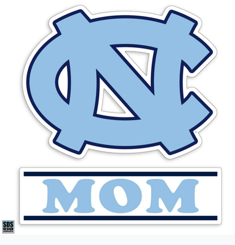 "North Carolina Tar Heels SDS Mom 3"" Decal"