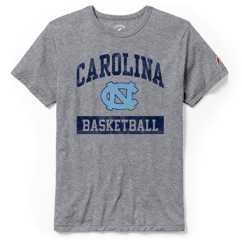 Victory Basketball by League - Vintage Grey UNC Basketball T-Shirt