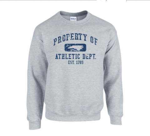 Vintage North Carolina Sweatshirt Property of NC Athletic Department