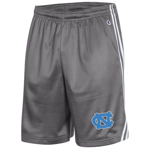 UNC Men's Basketball Shorts Grey Carolina Tar Heels in Lacrosse Short Style