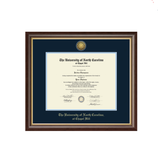 UNC Diploma Frame Gold Engraved Medallion in Hampshire