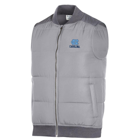 UNC Puffer Vest for Men by Champion