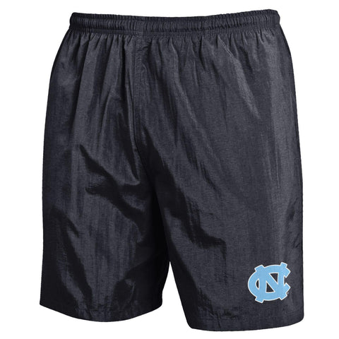 "UNC Men's Shorts Nylon 7"" inseam - BLACK"