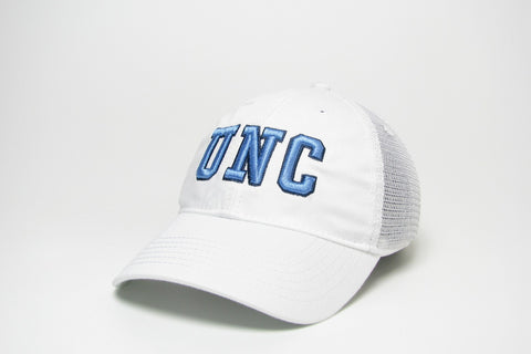 North Carolina Tar Heels Legacy University Trucker UNC Hat-White