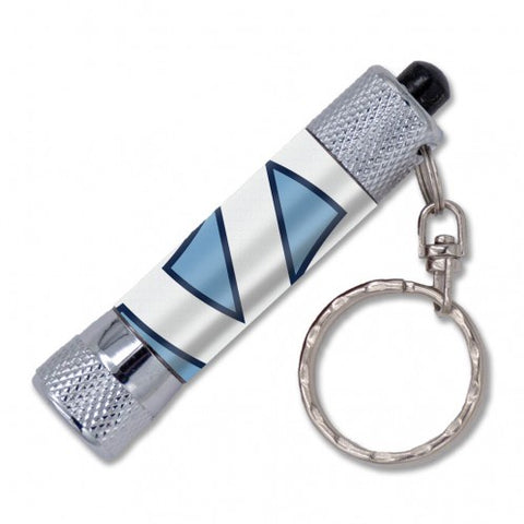 UNC Keychain Flashlight with North Carolina Logo