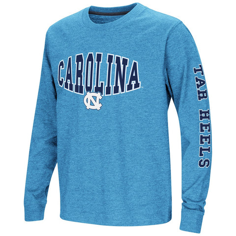 North Carolina Tar Heels Colosseum Youth Spike Long Sleeve Tee