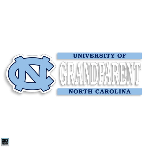 University of North Carolina Grandparent Decal
