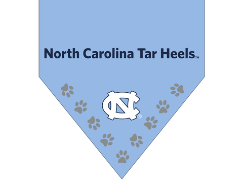 North Carolina Tar Heels Collar Dog Bandana UNC
