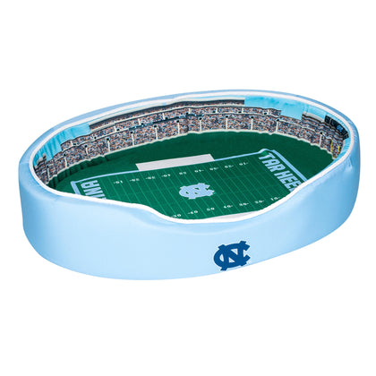 UNC Football Dog Bed North Carolina Tar Heels Kenan Stadium Pet Bed
