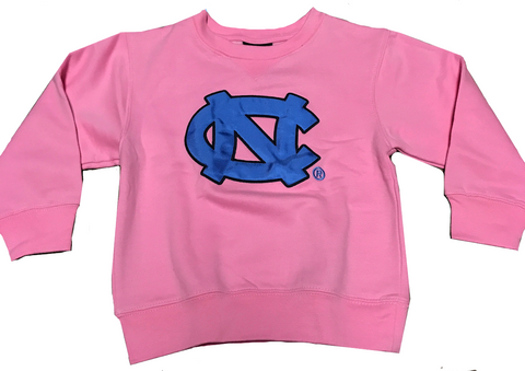 Game Day Embroidered Baby Crew Neck Sweatshirt