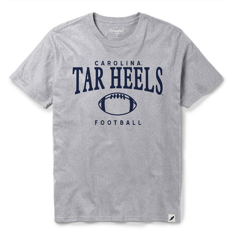 Football Gym Tee by League - Vintage Carolina Football T-Shirt