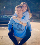 The Admitted Crew - Champion UNC Seal Crewneck Sweatshirt