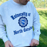 UNC Vintage Crewneck Sweatshirt with Seal