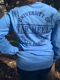 North Carolina Tar Heels League University Pocket UNC Long Sleeve Tee