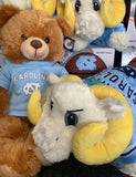 North Carolina Tar Heels Jardine Plush Beige UNC Teddy Bear