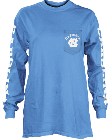 North Carolina Tar Heels Pressbox McPherson Long Sleeve