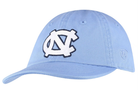 Carolina Blue UNC Hat with Stretchy Back for Toddlers