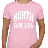 North Carolina Tar Heels Classic Ladies T-Shirt
