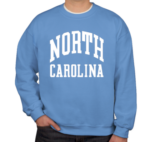North Carolina Classic Collection Adult Crewneck Sweatshirt