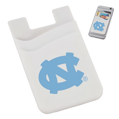 North Carolina Tar Heels Jardine Dual Pocket White Phone Wallet