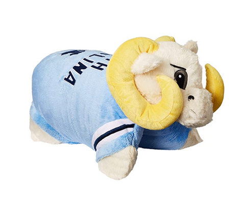 North Carolina Tar Heels Rameses Mascot Pillow Pet