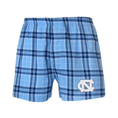 North Carolina Tar Heels Plaid Boxers