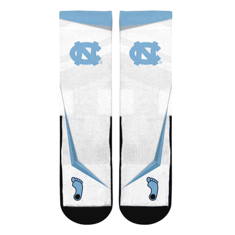 North Carolina Tar Heels Rock Em Speed Sprint Crew Socks