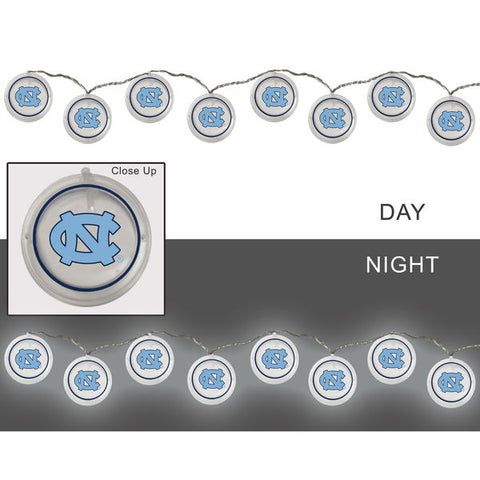 North Carolina Tar Heels String Lights