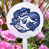 North Carolina Tar Heels Garden Stake