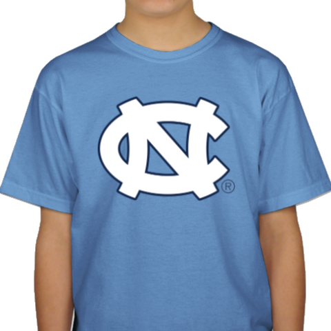 North Carolina Tar Heels Classic Game Day Kid's T-Shirt - Carolina Blue