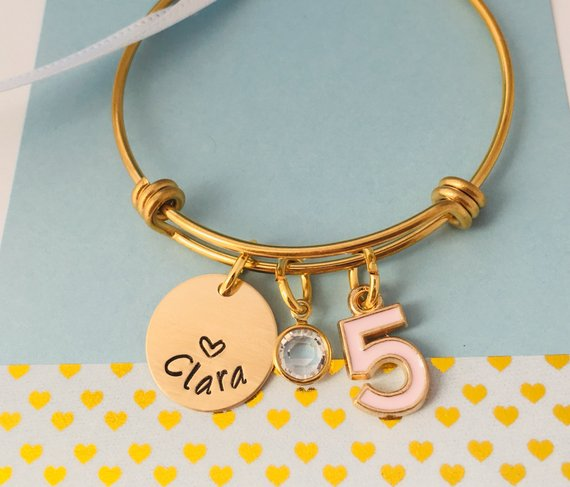 5th Birthday Bracelet
