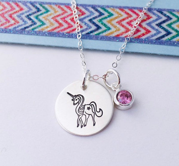 sterling silver unicorn jewelry