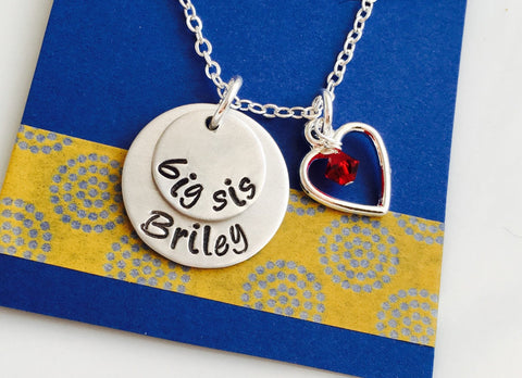 Big Sister Necklace, Big Sister Gift